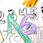 Number Coloring Pages for Toddlers