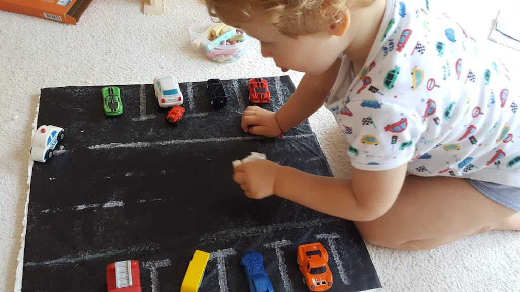 Redesign DIY Car Play Mat