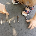FUN LEARNING ACTIVITY FOR TODDLER WITH STICKS