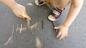 Fun Activity for Toddler with Sticks to Try Out Today