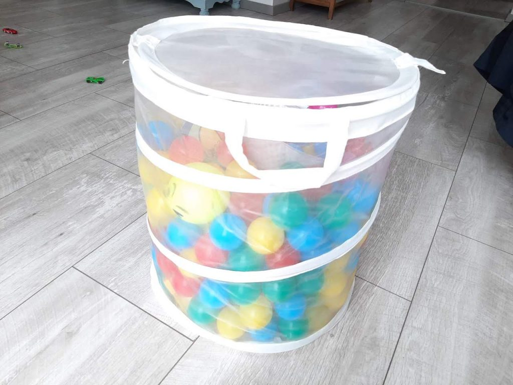 Ball activities for toddler at home