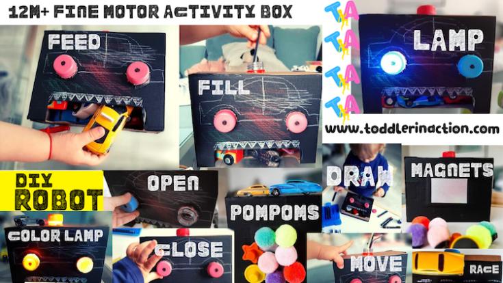 Fine Motor Activities DIY Robot