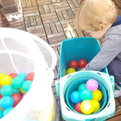 Read more about the article 5 Easy Ball Toddler Activities at Home