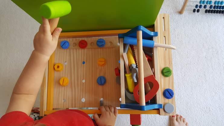 Workbench - best toddler toys