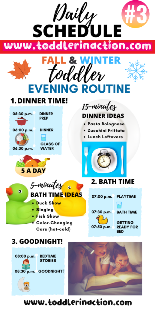 Toddler Evening Routine