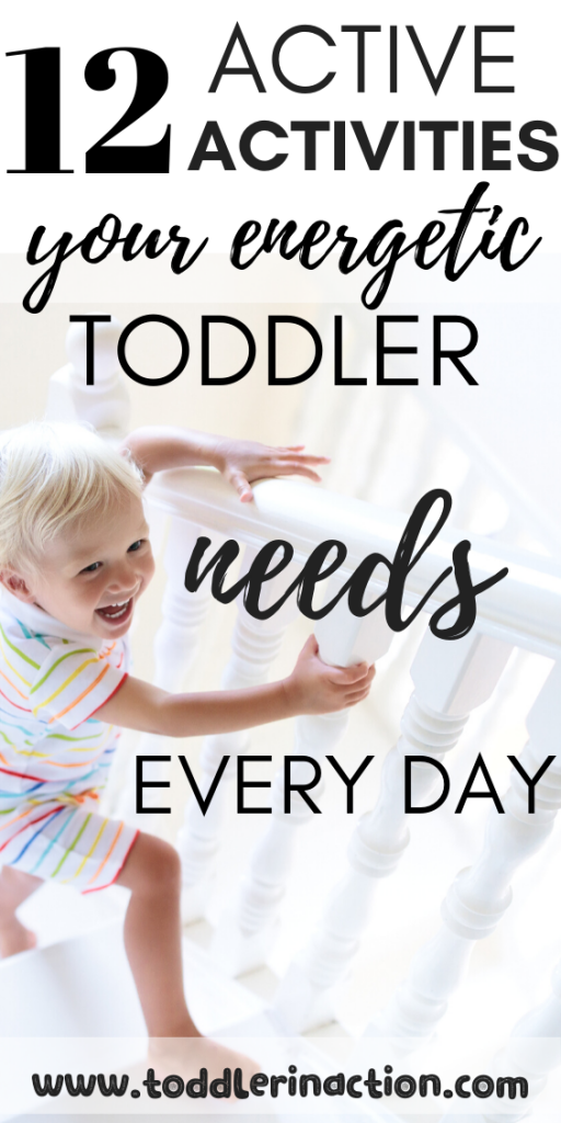 12 active activities for energetic toddlers