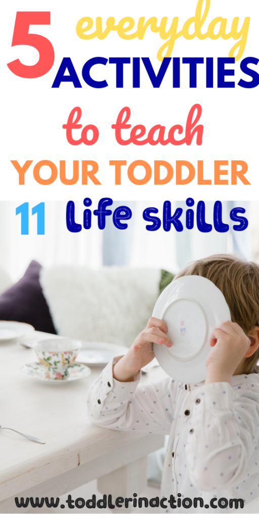 5 Things to do with your toddler to teach essential life skills