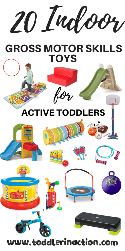 20 indoor gross motor skills toys for active toddlers