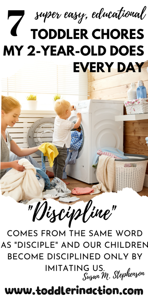 7 SUPER EASY EDUCATIONAL TODDLER CHORES MY 2-YEAR-OLD DOES
