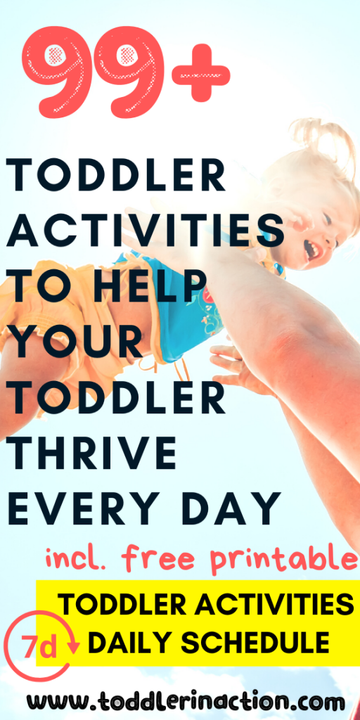 99 toddler activities to help your toddler thrive every day