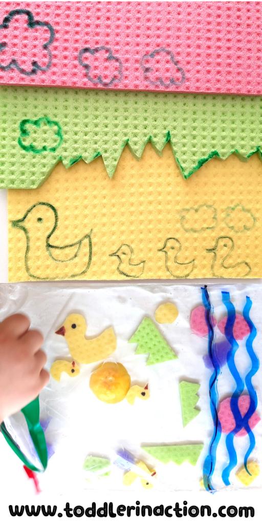 Sensory Bag Wipe Sponges