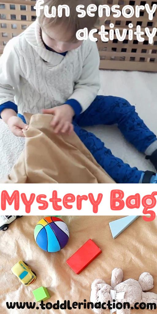 Mystery Bag sensory activity