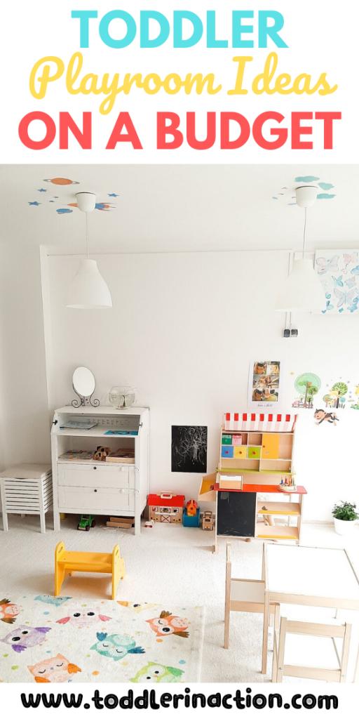 Toddler Playroom Organization Ideas On