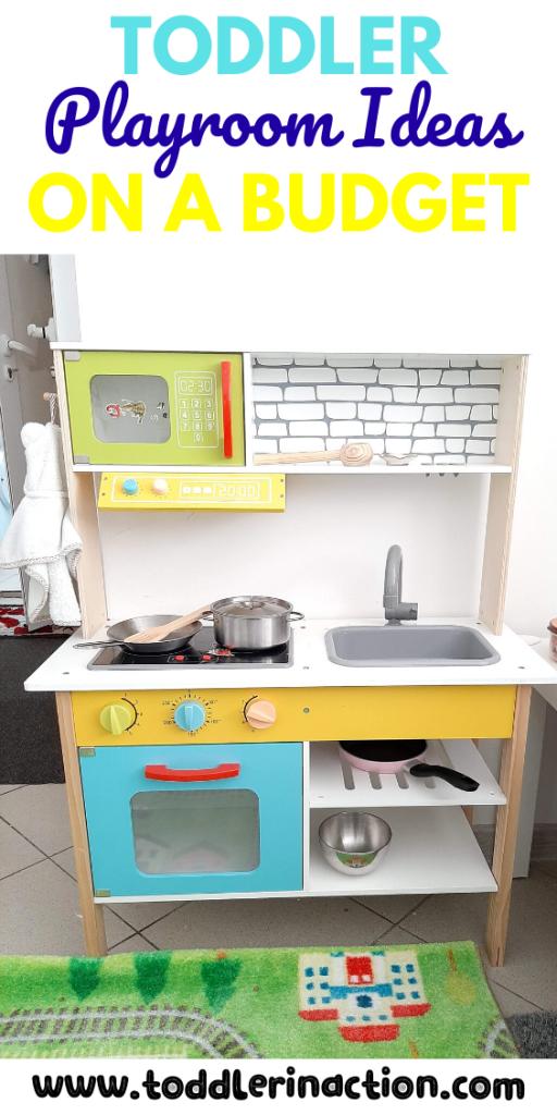Toddler Playkitchen in a Kitchen