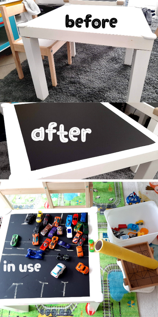 Playroom Chalkboard Wall Chalkboard Table