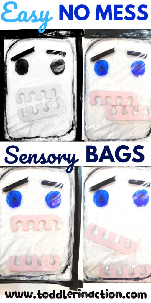 Sensory Bag Water Monster
