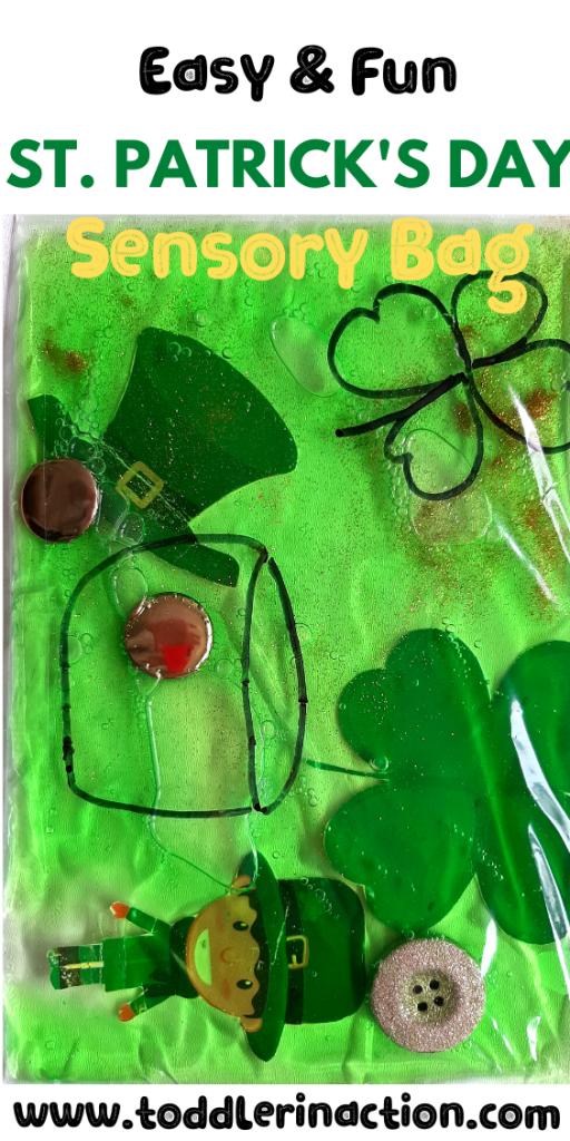 St Patricks Day Sensory Bag