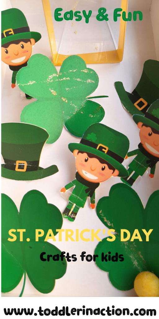 St Patrick's Day Soccer Box