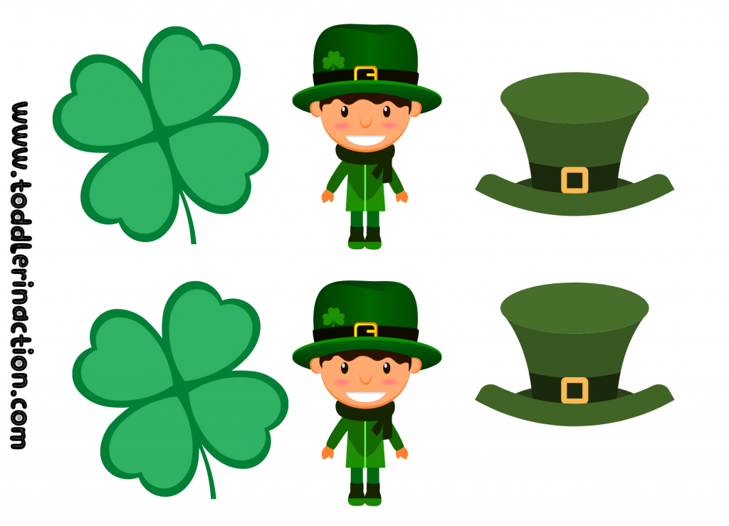 St Patrick's Day crafts printable