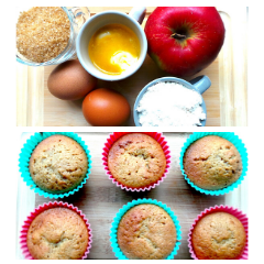 APPLE MUFFINS – EASY TODDLER SNACK
