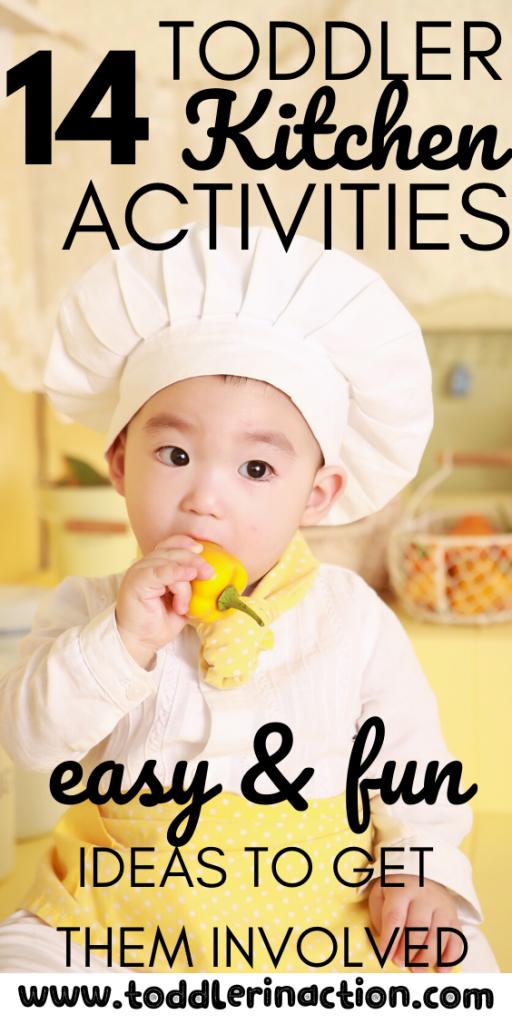 Toddler Kitchen Activities