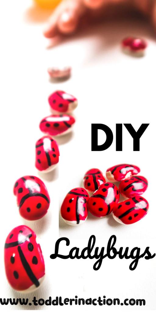 diy ladybug CRAFTS for kids