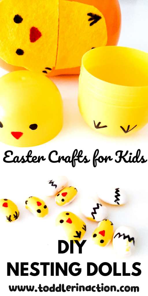 Easter Crafts for Kids - nesting dolls