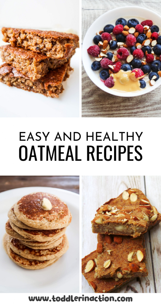 5 healthy oatmeal recipes to meal prep for the week - perfect for meal prep breakfast! These easy healthy high-fibre recipes are great for your toddler meal plan as well and super delicious!
