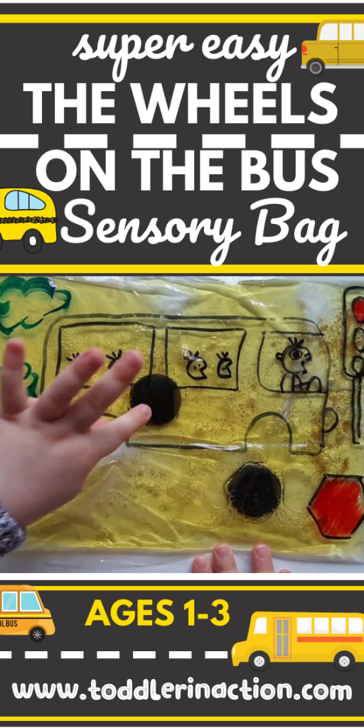 The WHEELS ON THE BUS SENSORY BAG