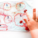 FINE MOTOR AND SENSORY ACTIVITIES WITH LADYBUGS