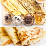 EASY VANILLA CREPES TO BUILD YOUR OWN CREPE BOARD