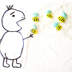 FINE MOTOR AND SENSORY ACTIVITIES WITH HONEY BEES