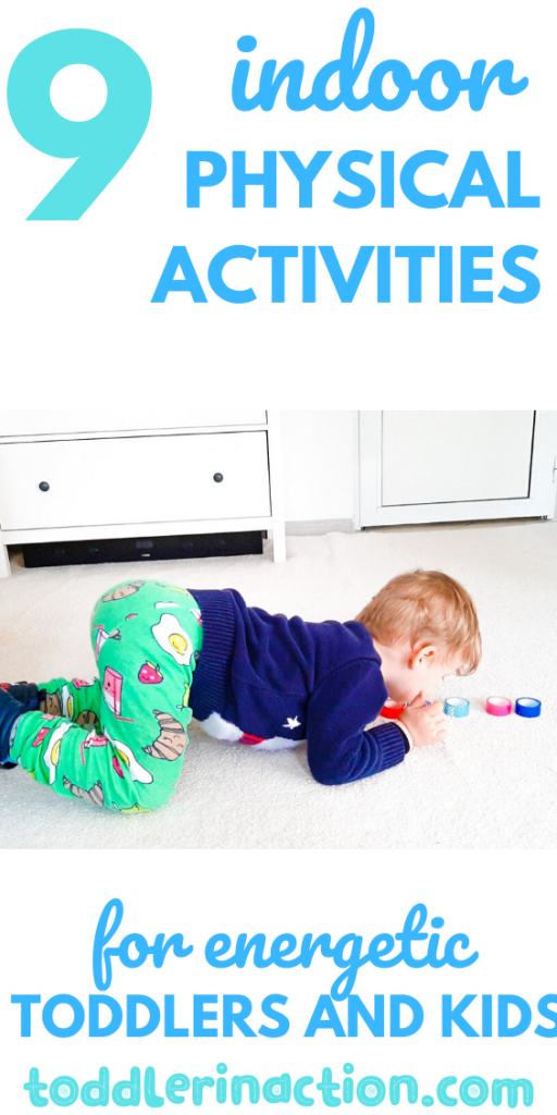 indoor activities for kids and toddlers