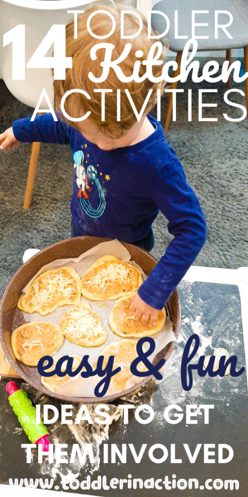 Toddler Baking Toddler Kitchen Activities at Home