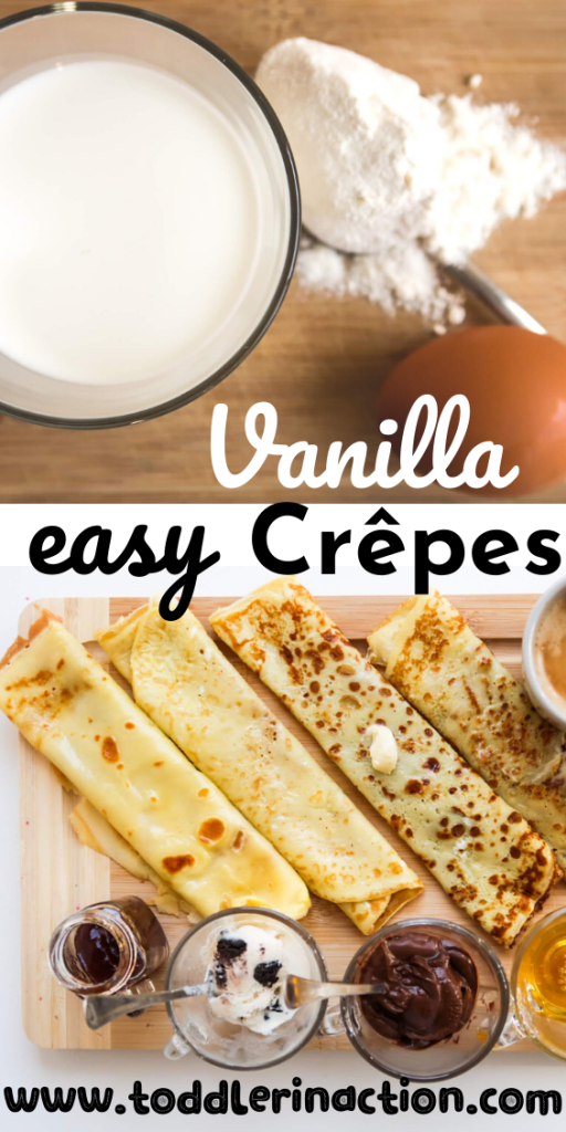 EASY VANILLA CREPES