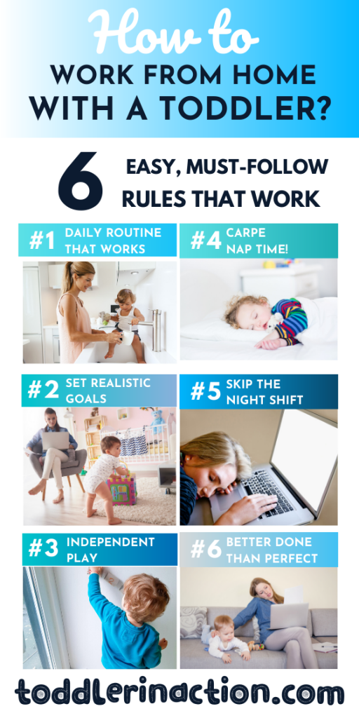 work from home with a toddler easy and productive