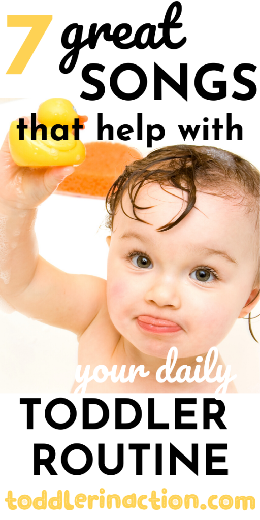 7 great songs that help with your daily toddler routine
