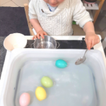 EGG CANDLES SCOOP – SUPER EASY FINE MOTOR ACTIVITY