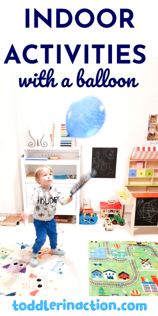 indoor activities with a balloon