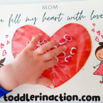 MOTHER'S DAY CRAFT FOR KIDS, PRESCHOOL AND TODDLERS