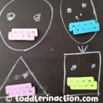 EASY FINE MOTOR ACTIVITY MONSTER TEETH