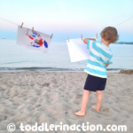 OUTDOOR PAINTING ON THE BEACH