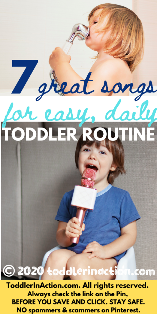 Songs for toddler routine