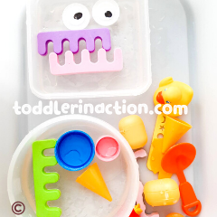 CREATIVE WATER CRAFTS SENSORY BIN
