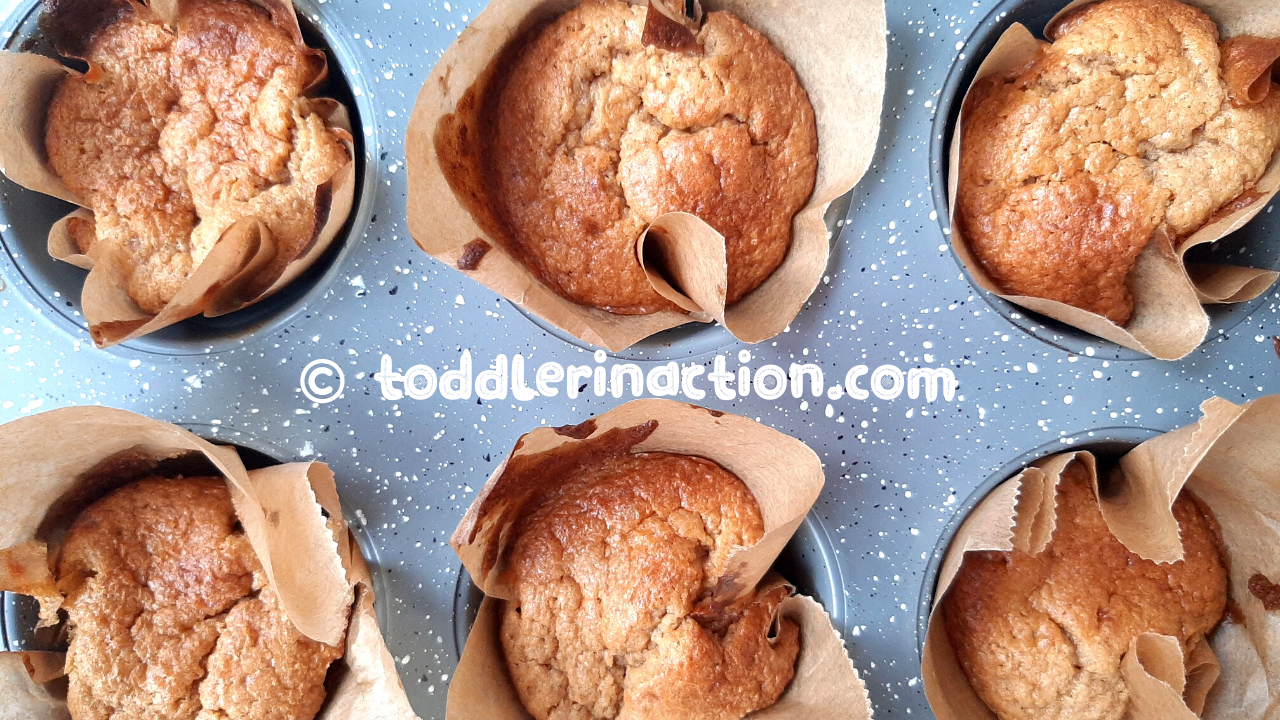 Easy oatmeal butter muffins