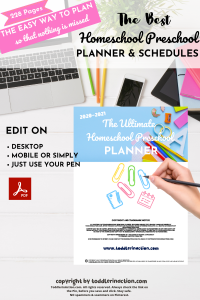 EASY HOMESCHOOL CURRICULUM PLANNER