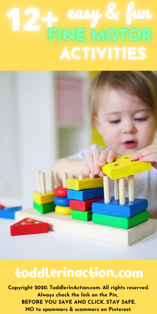Building blocks with pins