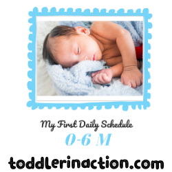 SIMPLE BABY SCHEDULE TEMPLATE 0-6 MONTHS