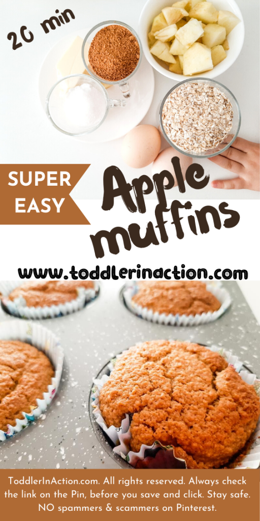 EASY HEALTHY APPLE MUFFINS