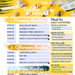 4 SEASONS DAILY TODDLER SCHEDULE 12-36M